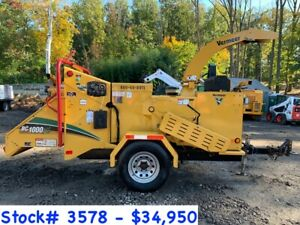 6 Vermeer Bc1000xl Wood Chippers For Sale