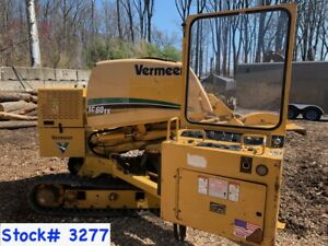 4 Vermeer Sc60tx Stump Grinders For Sale 3258