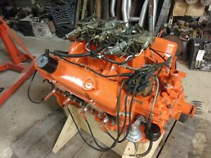 Mopar 440 Six Pack Engine Assy Hyd Cam Iron Head Street strip 540hp Ready 2 Run