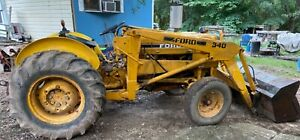 Industrial Tractor Ford 340a 1981 1984