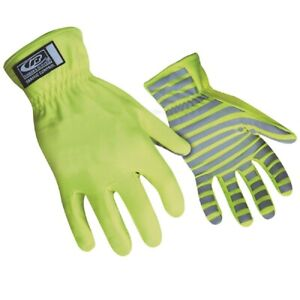 Ringers Gloves 307 12 Reflective High Visibility Traffic Control Gloves Xxlarge
