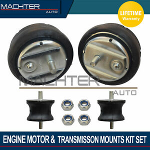 New Engine Motor Transmission Mounts Set Of 4 For Bmw E36 E46
