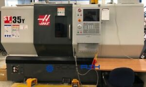 Haas St 35y Cnc Lathe 4 Bore 12 Chuck Live Tool And Y Axis Tailstock And M