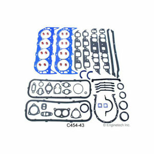 Enginetech Engine Gasket Set Rebuilder For 1965 1990 Chevy 396 454 Bbc