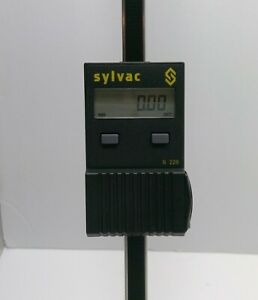 Fowler Sylvac 24 Cylindrical Vertical Beam Scale 54 065 024
