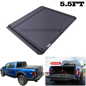Tonneau Cover 5 5ft Hard Truck Bed Retractable 66 For Ford F 150 2010 2020