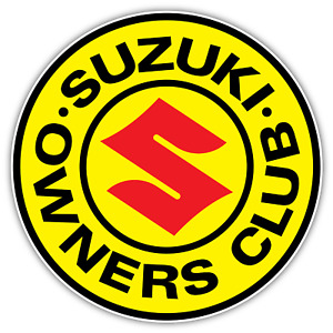 Suzuki Club Samurai Vitara Vinyl Sticker Decal 4x4 Truck Suv Motorcycle Bike Car
