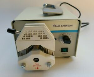 Wells Johnson Infiltration Pump Infusion System