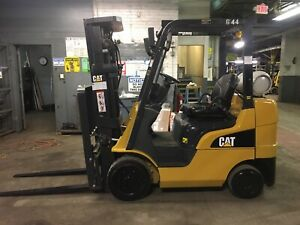 2016 Cat 5000 Lb Forklift With Side Shift And Triple Mast Model 2c5000