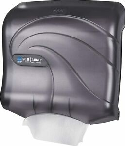 San Jamar T1759tbk Ultrafold Multifold c fold Towel Dispenser