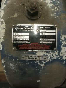 Ramsey Hydraulic Winch 800 r