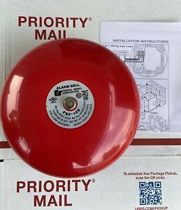 Signal Division Fsf106 024r 24v Red 6 Fire Audible Tone Bell Fire Alarm