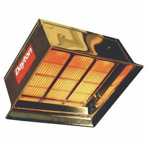 Dayton 3e134 Commercial Infrared Heater Ng 90 000 Btuh Input 22 1 2 H X