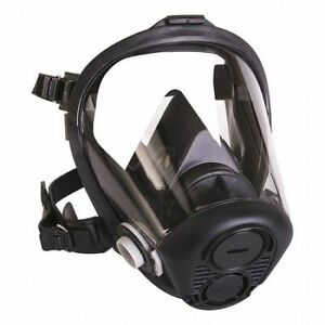 Honeywell North Ru65001m Full Face Respirator m threaded 5 Point