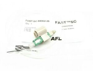 1 Afl Fast Connect Fast sc smau 25 Single Mode Connector 0 9mm 0 25mm