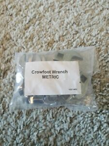 New 10 Piece Craftsman Metric Crowfoot Wrench Set 10mm 19mm