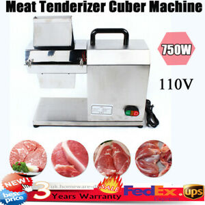 New 750w Tk 12mt Commercial Meat Tenderizer Stainless Steel Electric Tenderizer