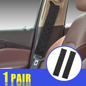 1 Pair Car Safety Seat Belt Shoulder Pads Cover Cushion Harness Pad Protector