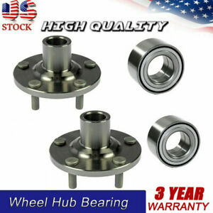 Front Rh Lh Wheel Hub And Bearing Assembly For 2004 2010 Toyota Sienna A5