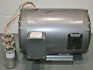 Phase a matic Rotary 1 to 3 Phase Converter R 10 208 240v Input output 10 Hp
