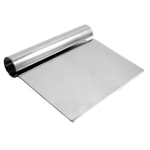 Thunder Group 5 25 X 4 25 Dough Scraper Stainless Steel Handle Comes In Each