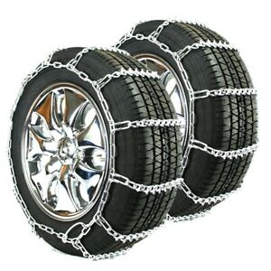 Titan Passenger V Bar Link Tire Chains Ice Snow Covered Roads 5mm 205 60 15