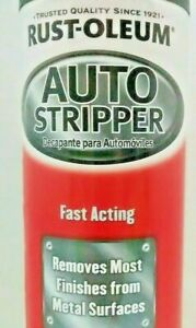 Rust Oleum Auto Stripper Paint Remover For Metal Surfaces 15oz Spray Can