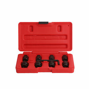9pc Stud Removal Installer Kit M6 M8 M10 Nut Bolt Socket Thread Tool Set