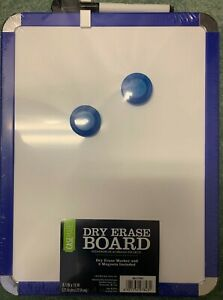 Brand New Casemate 8 5 X 11 Magnetic Dry Erase White Board Blue