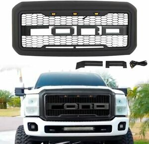 Front Grill Grille Fit For 2011 2016 Ford F 250