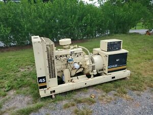 97 39kw 45kw kohler Generator 4 554 Hours 4 9 Ford Engine Lp Natural Gas