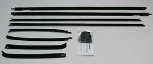 1969 1970 Impala Custom Caprice 2 Door Hardtop Window Weatherstrip Kit 8 Pcs
