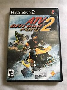 PlayStation 2 ATV OffRoad Fury 2 Video Game Disc/ Manual/ Case  2002  Sony PS2
