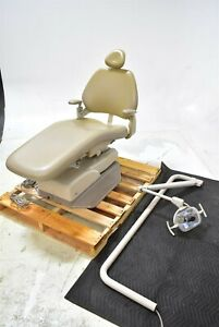 Adec 8000 Dental Exam 2005 Chair Operatory Set up Package W 6300 Light