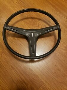 1969 1970 Pontiac Oem Black Steering Wheel Gto Judge Firebird Trans Am 69 70