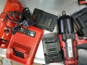 Snap On Tools Ct8850 18v 1 2 Drive Cordless Lithium Impact Wrench
