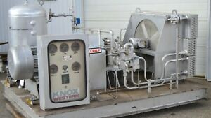 75 Hp Knox western Three stage Natural Gas Compressor