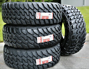 4 New Atlas Tire Priva M t Lt 33x12 50r18 118q E 10 Ply Mt Mud Tires