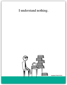 I Understand Nothing Funny Notepad 4 25 X 5 5 Inch 50 Sheets Coworker Gift