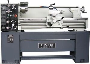 Eisen 1440e 14 X 40 Engine Lathe With Dro Made In Taiwan 220v 3ph
