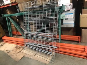 Industrial Commercial Warehouse Shelving Pallet Racks Teardrop Pick Up Only