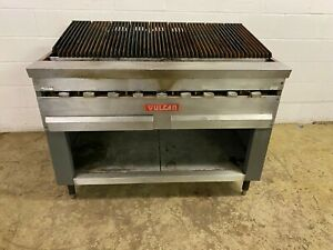 Vulcan Gas Radiant Charbroiler With 9 Burners 180 000 Btu Tested