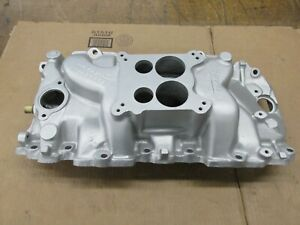 1969 Big Block Chevy Bbc 427 Tall Deck Rectangle Port Intake 0319183 12 6 68 Zl1