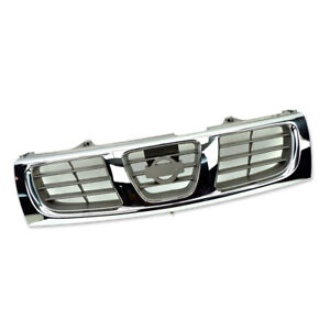 Front Grille Grill Trim Chrome For Nissan Frontier D22 Pickup 1997 2000