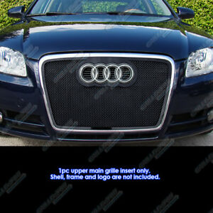 Fits 2006 2007 Audi A4 Stainless Steel Mesh Grille Insert