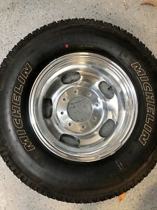 2019 Ford Dually Oem 17 Alloys With Michelin Tires Quantity 6 3618 3619