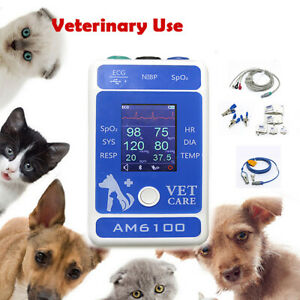 Veterinary Patient Multi parameter Monitor dogs cats Medical Clinic Equipment