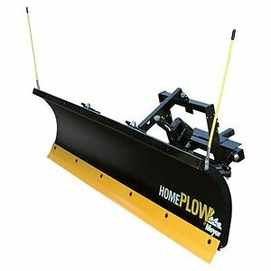 Home Plow By Meyer Hydraulic Snowplow Power Angling 7ft 6in Model 26500