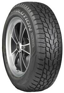 4 New Cooper Evolution Winter 235 75r15 109t Xl Winter Tires