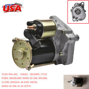 New Starter For 1998 1999 2000 2001 2002 Honda Accord 2 3l 98 99 Acura Cl 17729